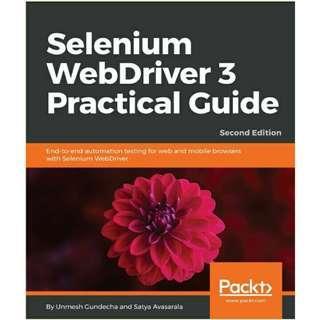 ( eBook ) Selenium WebDriver 3 Practical Guide