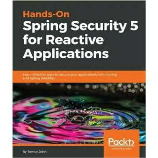 ( eBook ) Hands-On Spring Security 5 for Reactive Applications
