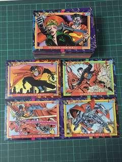 1993年-DC正義聯盟漫畫咭全套