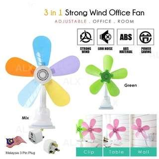 Powerful 220v 5 blade silent wall mounted bed electric fan