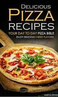 (Ebook) Delicious Pizza Recipes by Martha Stephenson