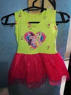 Little pony toddler dress