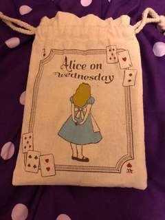 日本直送 愛麗絲 小袋子 (包平郵)
