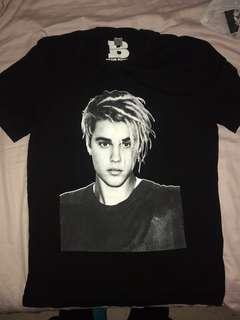 Bieber Purpose stadium tour t-shirt