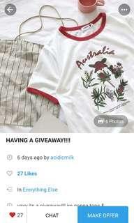 [ repost ] giveaway by acidicmilk