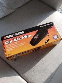 Black and Decker Car Vacuum Cleaner