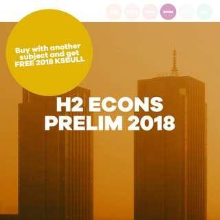 H2 ECON PRELIM 2018