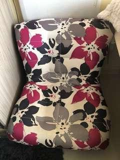 Avino floral chair modern
