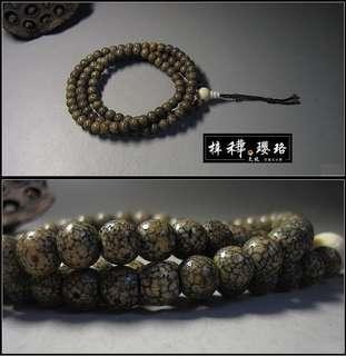 【星月】藏傳收藏級老星月菩提108念珠