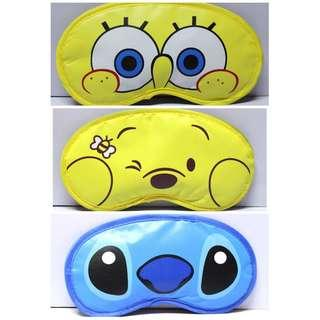 Spongebob / stitch / winnie the pooh eye mask