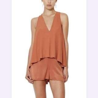 LUNETTA playsuit bec and bridge sz 6