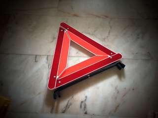 Car safety triangle