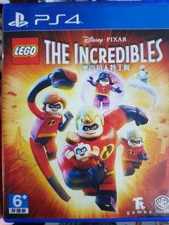 🚚 Lego : The Incredibles - PS4 2nd Hand Game