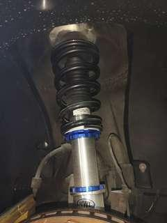 BMW E39 Adjustable Coilover Absorber with Bodyshift