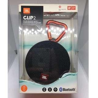 Authentic JBL Clip 2 Bluetooth Speaker (Brand New)