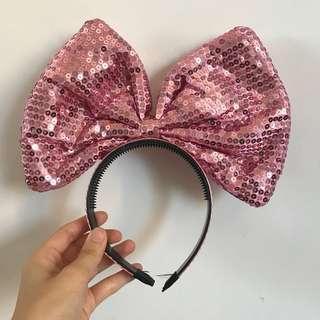 Sparkly Bow Hair Band 韓國亮片蝴蝶結髮箍 (Halloween)