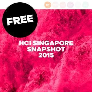 [FREE] HCI SINGAPORE SNAPSHOT 2015 #BLESSING #prelovedwithlove