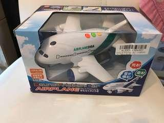 (激減)Sound Friction Car Airplane 發聲飛機 綠色 C款