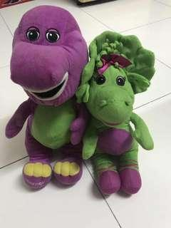 Barney Soft Toys