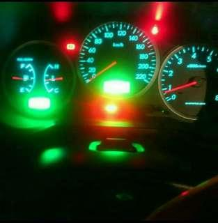 Subaru speedometer led light