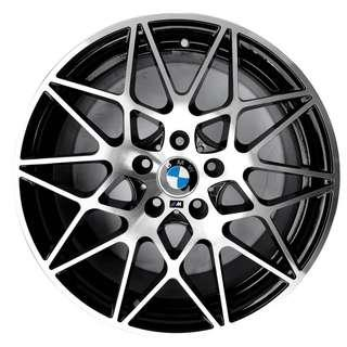 """M4 sport performance package style 18"""" rims for BMW"""