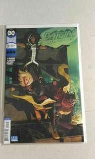 Dc Batman Batgirl comic variant