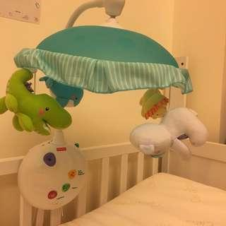 Fisher Price 2 in 1 Projection Crib Mobile