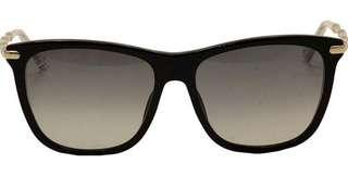 Gucci Cat eye sunglasses with metal bamboo temples