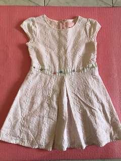 18-24 mos white dress