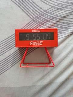 Seiko Limited Edition Coca Cola Alarm Clock