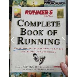 🚚 Runner's World Complete Book of Running ed. Amby Burfoot