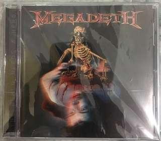 MEGADETH CD - THE WORLD NEEDS A HERO