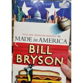 🚚 Made in America by Bill Bryson