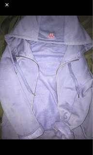 Purple aritiza tna zipup sweater