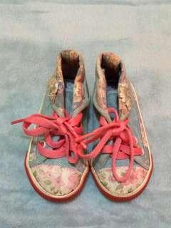 Next hi-cut floral sneakers