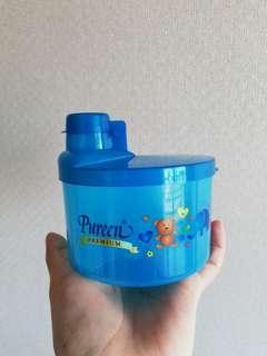 Baby milk powder storage box