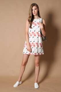 🚚 The Stage Walk (TSW) Flamingo Pocket DresS