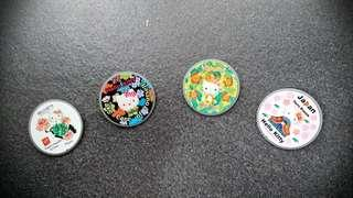 Hello Kitty Pins 珍藏襟章