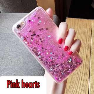 IPhone Xs Max flowing glitter casing