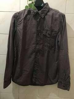 CONVERSE Long Sleeves button down shirt. Not Zara, Uniqlo