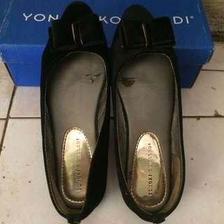 Flatshoes yongki komaladi black