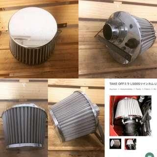 Take Off air filter kcar