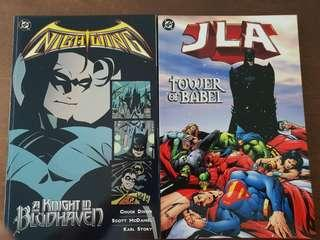 DC comics TPB, Nightwing and JLA Tower of Babel