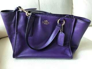 Coach 紫色手袋