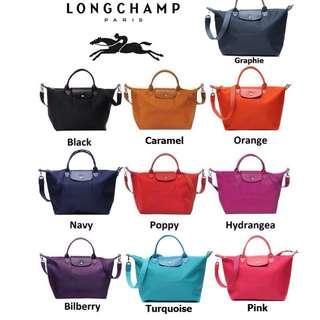CLEARANCE SALES!!Authentic Longchamp Le Pliage Neo Small & Medium Handbag