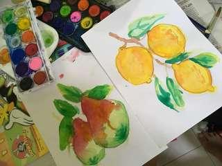 Art class for your little ones