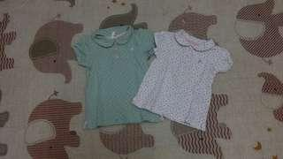 H&M tops (set of 2)