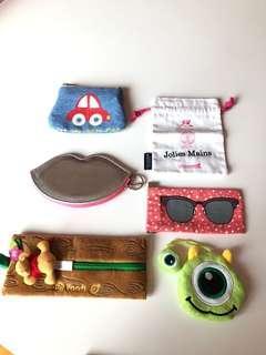 Coin bag / card holder / small purse