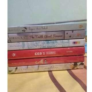 Paket novel preloved