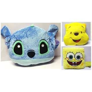 Spongebob / winnie the pooh / stitch